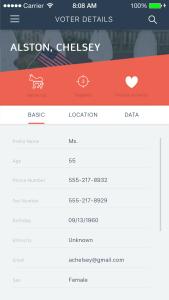 mobile app detail
